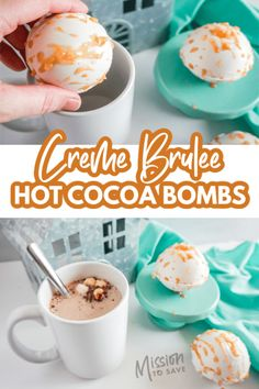 Hot Chocolate Coffee, Hot Chocolate Gifts, Christmas Hot Chocolate, Hot Chocolate Bars, Hot Chocolate Mix, Hot Chocolate Recipes, Bomb Drinks, Yummy Drinks, Delicious Desserts