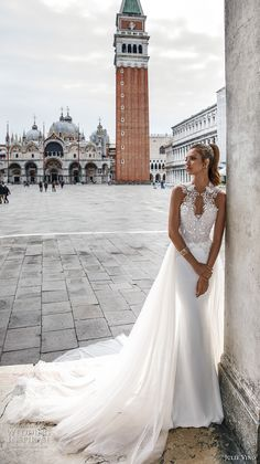 "Julie Vino Spring 2018 Wedding Dresses ""Venezia"" Bridal Collection – Part 2"