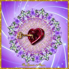 Cantinho de Imagens da Guerreira: Mandala Coração