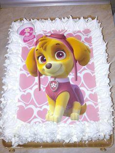 Patrolne šape torte - jestiva slika na fondanu Skaye  Slike možete poručiti na našoj FB stranici https://www.facebook.com/fotokejk/