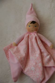 Organic Waldorf doll, for baby