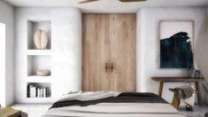 Interior design of a family house in Mykonos. Wabi Sabi, Cozy Bedroom, Bedroom Decor, Dream Bedroom, Master Bedroom, Santorini House, Casa Milano, Myconos, Interior Decorating
