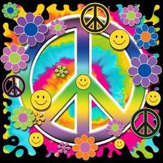 SMILEY FACES FLOWERS & PEACE