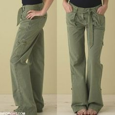 Latest Cargo Pants Designs 2012 For Women