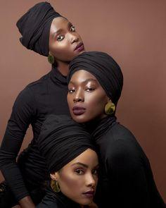 Shot by Head wraps from Models: MUA: Black Girls Rock, Black Girl Magic, Black Girl Aesthetic, Brown Skin Girls, My Black Is Beautiful, Beautiful Lips, Beautiful Women, Black Models, African Beauty