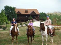 At Harpole's Heartland Lodge, our #horses are part of the family!  Come visit us to explore our miles of scenic trails.
