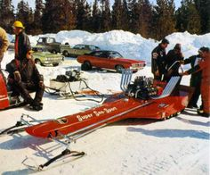 """Receive great ideas on """"tow my snowmobile"""". They are available for you on our web site. Vintage Sled, Vintage Racing, Triumph Motorcycles, Ducati, Motocross, Mopar, Snow Vehicles, Snow Machine, Snow Fun"""