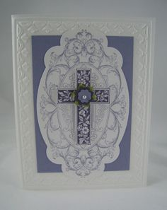 stampin up crosses of hope
