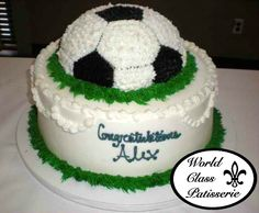 GOALS! This World Class Patisserie Cake is available exclusively at Saker ShopRite locations. Call to schedule a consultation today! PHONE: 732-845-4929 ext. 0