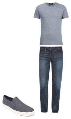 """9"" by nycmoo on Polyvore featuring Polo Ralph Lauren, A.P.C., Vince, men's fashion и menswear"