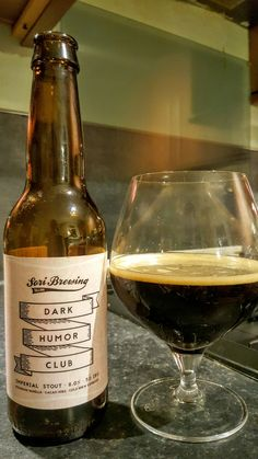Sori Brewing Dark Humor Club. Watch the video beer review here…