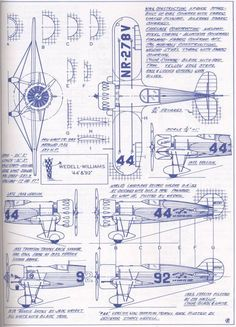 Wedell Williams Schematic