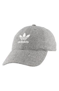 30e40505e46dc adidas Men s Originals Relaxed Plus Strapback Cap