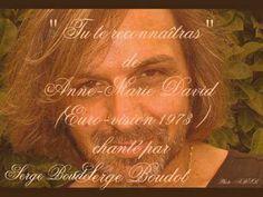 """"""" Tu te reconnaîtras """" de Anne-Marie David (Euro-vision 1973 ) chanté pa..."""