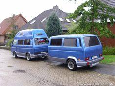 karaván Cargo Trailer Camper, Car Camper, Camper Caravan, Car Trailer, Mini Camper, Vw Bus T3, Volkswagen, Combi Wv, Vw T3 Syncro