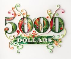 Illustrator and paper artist Yulia Brodskaya creates fantastic quilling designs. Check out these gorgeous images for paper quilling inspiration. Arte Quilling, Quilling Letters, Quilling Designs, Paper Letters, Quilling Ideas, Origami, Yulia Brodskaya, Paper Art Design, Quilled Paper Art