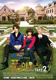 Title: 풀하우스 TAKE2 / Full House Take 2 Chinese Title: 浪漫满屋 2 Also known as: Full House 2 Genre: Romance, comedy Episodes: 16 (2 parts in each episode) Broadcast network: SBS Plus Broadcast period: 2012-Oct-22 to 2012-Dec-13 Air time: Monday to Thursday 12:30 (1 part/day @ 35 minutes/part) Korean Drama List, Korean Drama Movies, Korean Actors, Korean Dramas, Korean Celebrities, Asian Actors, Full House Season 2, Full House 2, Kdrama