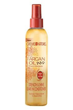 This leave-in conditioner is great as a full-blown treatment (especially at the ends of your tresses), or to tame pesky frizz that comes with hat hair.   Creme Of Nature Strength & Shine Leave-In Conditioner, $5.26, available at Walmart.