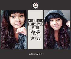 Searching for bangs curly hairstyles? Check hairstyles with bangs for natural curly hair. Choose the one that will fit you and create a superb look! Curly Hair With Bangs, Curly Hair Cuts, Short Curly Hair, Natural Wavy Hair, Natural Hair Styles, Perfect Image, Perfect Photo, Layers And Bangs, Medium Hair Styles