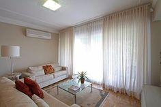 cortina voil (voal) - 8 metros - 8 x 2,40 branca ou outra