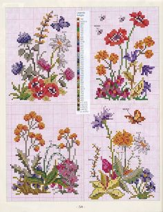 Flower Garden Cross Stitch