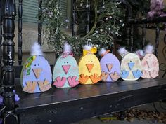 cute spring chick wood project
