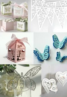 Laser Cut Wedding Boxes and Decorations | Laser Cut Wedding Trend 2013 and 2014 Aspirational Bride UK Wedding Blog