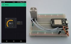 Temperature/humidity monitor with Blynk and Particle - Projects made with Blynk - Blynk