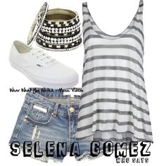 Selena Gomez - Click here to purchase items from the set above.