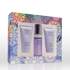 Elizabeth Taylor Violet Eyes Gift Set for Women (Eau De Parfum Spray, Shower Gel, Lotion ) by Elizabeth Taylor. $26.47. Packaging for this product may vary from that shown in the image above. All our fragrances are 100% originals by their original designers. We do not sell any knockoffs or immitations.. Violet Eyes Perfume for Women 3 Pc. Gift Set ( Eau De Parfum Spray 1.0 Oz + Bath & Shower Gel 1.7 Oz + Perfumed Body Lotion 1.7 Oz ). 3 Pc. Gift Set ( Eau De Parfum Spray 1...