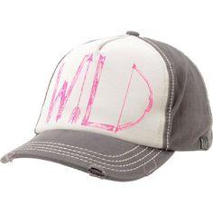 Billabong Girls Far Away Charcoal Baseball Hat