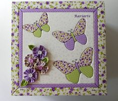 Patchwork sin aguja | Cajas | Pinterest