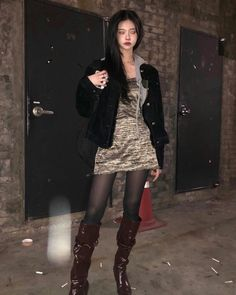 Estilo Bad Boy, Skirt Outfits, Cute Outfits, Pinterest Girls, Japanese Denim, Tokyo Fashion, Classic Outfits, Ulzzang Girl, Street Style