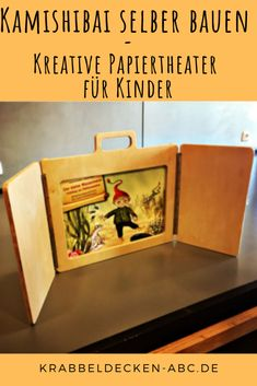 Build Kamishibai yourself – picture book theater for young and old – Woodworking 2020