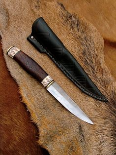 Kun Zsolt Knives: Puukko Knife