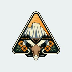 Congratulations to @adancreates the winner of the Outdoor Badge Challenge. - To check out the rest of the top 5 click the link in our bio or go to logoinspirations.co/outdoor- badge-challenge  Also follow @howesdesignservice