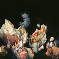 indie lullabies  Yevgeniya Mikhailik art