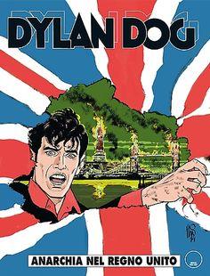 """November 2014 - """"Dylan Dog: Anarchia nel Regno Unito"""" By G. Simeoni, G. Casertano"""