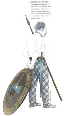 Historical Art, Historical Pictures, Ancient Rome, Ancient History, Celtic Sword, Types Of Armor, Celtic Warriors, Celtic Culture, Iron Age