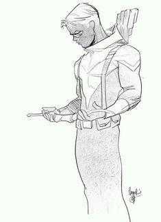 Green Arrow - Conner Hawke by Otto Schmidt *