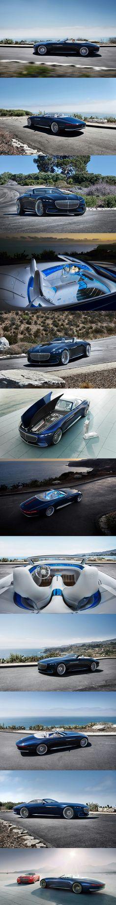 Vision Mercedes-Maybach 6 Cabriolet, Pebble Beach