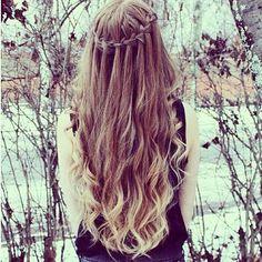 long curly hair   Tumblr