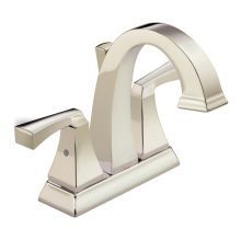 Dryden Centerset Bathroom Faucet with Diamond Seal - Includes Pop-Up Drain Assembly