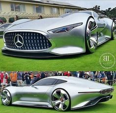 Mercedes-Benz AMG Vision Gran Turismo concept - active aero will play a big part in near future MB cars - this will show up soon in a more tame form