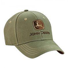 John Deere Cotton Canvas Cap