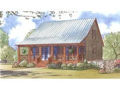 Home Plan HOMEPW77874 is a gorgeous 1661 sq ft, 2 story, 3 bedroom, 3 bathroom plan influenced by + Low Country style architecture.