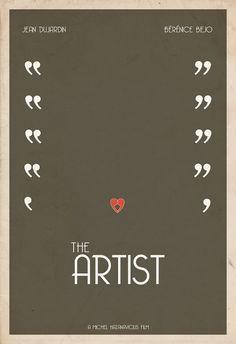 2012 Best Picture Minimal Poster Artist