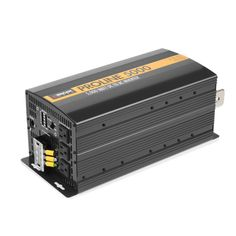 Wagan 5000 Watt Proline Inverter DC to AC Power Inverter + Remote (Black)