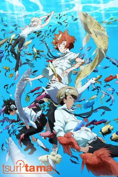 Informations : TITRE ORIGINAL : Tsuritama ANNÉE DE PRODUCTION : 2012 STUDIO : ANIPLEX [SONY MUSIC ENT. VISUAL WORKS] - A-1 PICTURES INC. GENRE : Amour & Amitié, Comédie, Espace & Sci-Fiction, Pêche, Sport AUTEUR : Ono Toshiya TYPE ET DURÉE : 12 EPS 26...