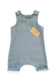 Handmade Organic Cotton Unisex Baby Romper | Sunny Afternoon on Etsy